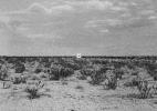 Isolated House #5, (High Desert), 1990/92 19″x19″ B&W Photograph