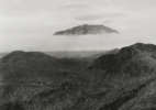 View of Mount St. Helens from the vicinity of Spud Mountain, 1982