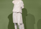 Statue of a Young Man Wearing an Exomis