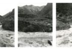 Devils Gate Triptych (Wasatch Range / Weber River, Union Pacific Railroad, After Carlton Watkins)