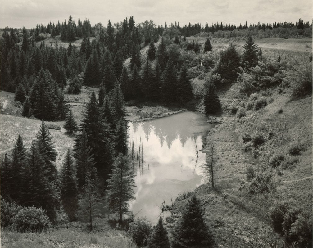 Large pond at bottom of hill, Mark Ruwedel, Pictures of Hell