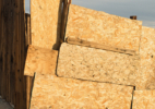 Particle Board Fence