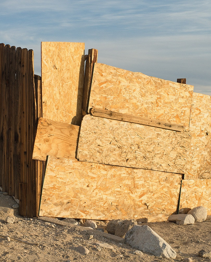 Ron Jude, Particle Board Fence
