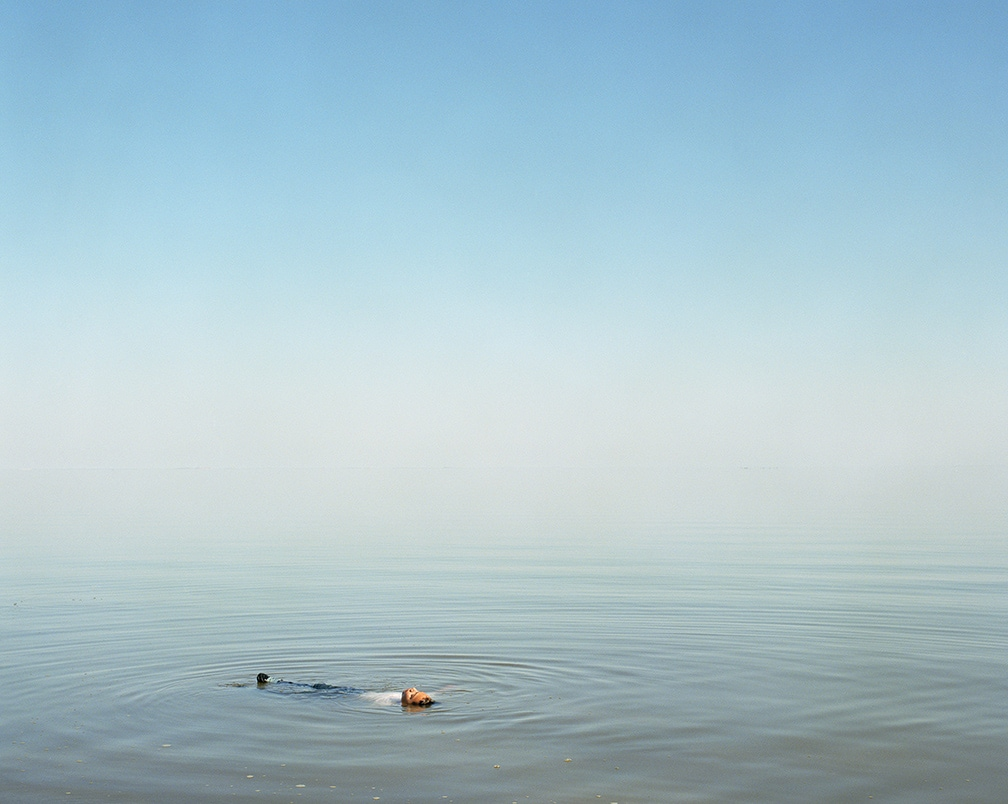 Ron Jude, Boy Floating in Water