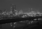 16. Long Beach Refinery, archival pigment print, 2017, 23 1:2 x 33 3:4 inches