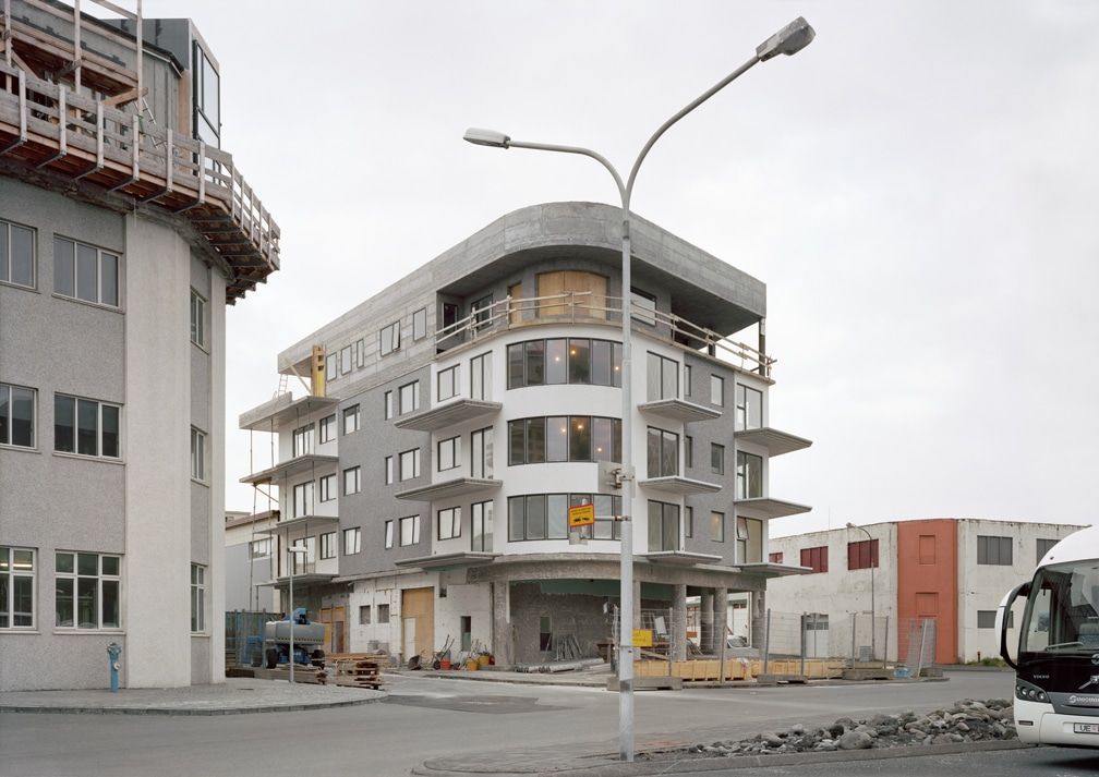 06. New Construction, Heimaey, 2018 (26 x 37in)