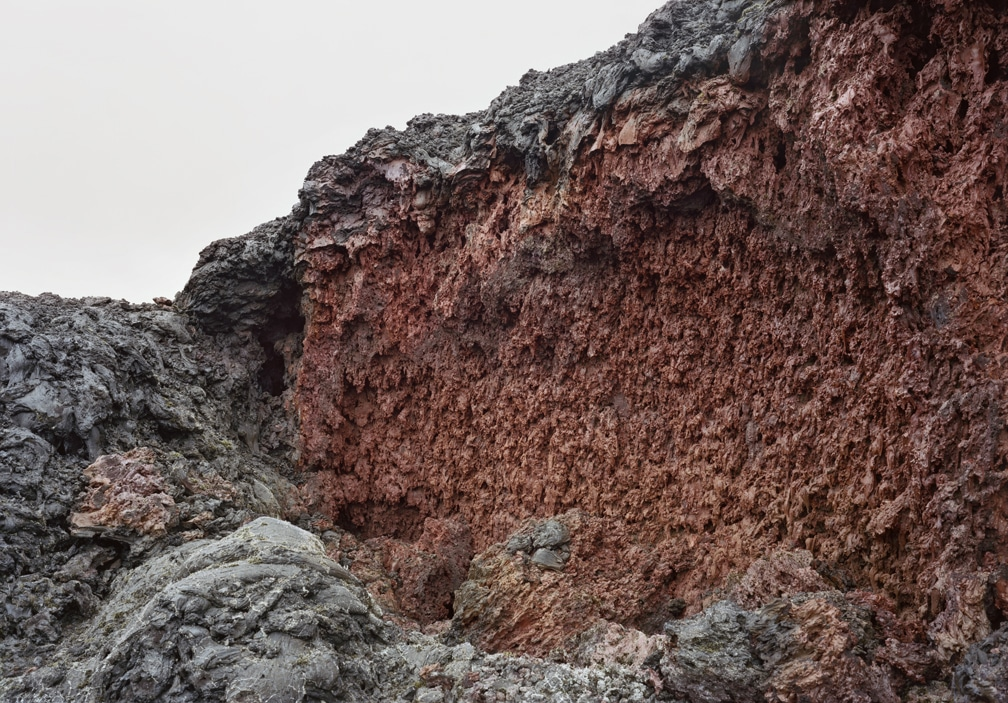10. Recent Lava Formation 3, 2019 (40 x 57in)